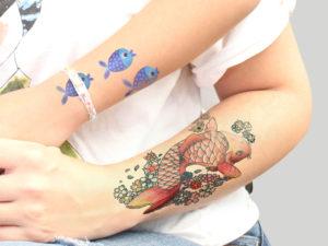 Temporal tatoo