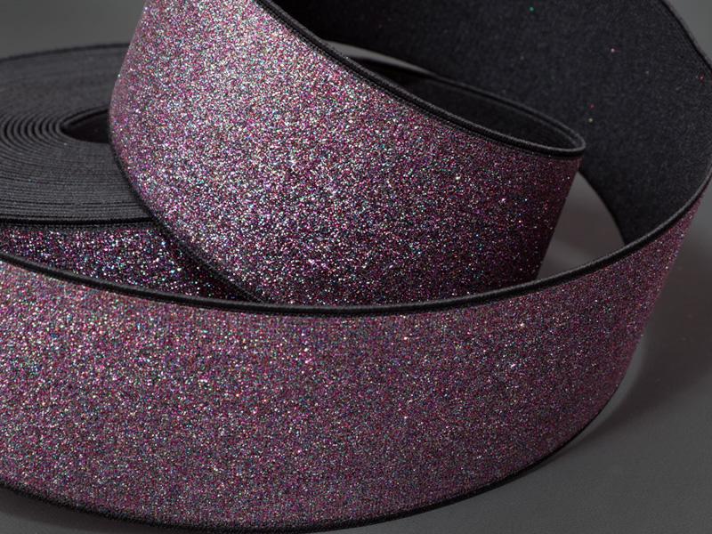 Elásticos con Glitter